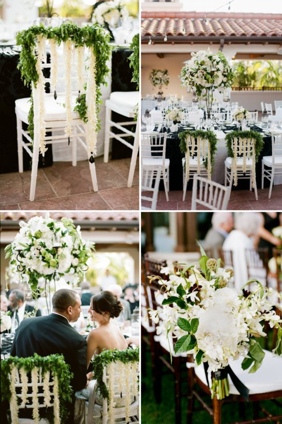 pretty wedding chairs creative ceremony reception decor inspiration 1