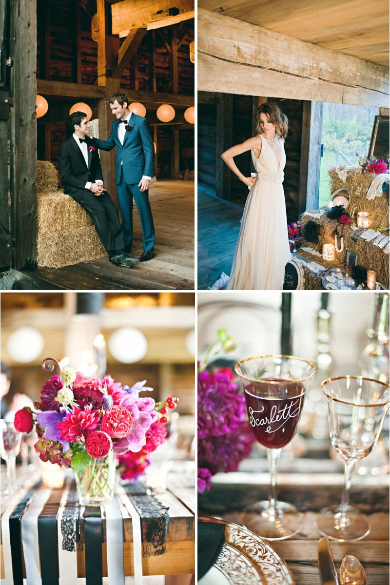 Rustic-luxe-wedding-theme-pink-wedding-flowers-barn-venue.full