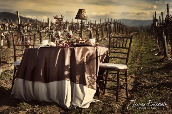 photo of Rustic Luxe Wedding Inspiration