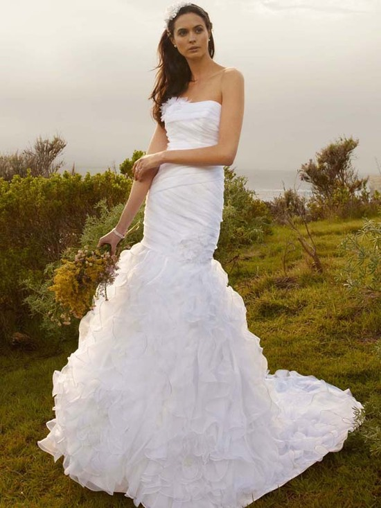 wedding dress fall 2012 davids bridal wedding gown wg3422 v2