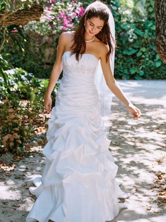 wedding dress fall 2012 davids bridal wedding gown wg3397 v2