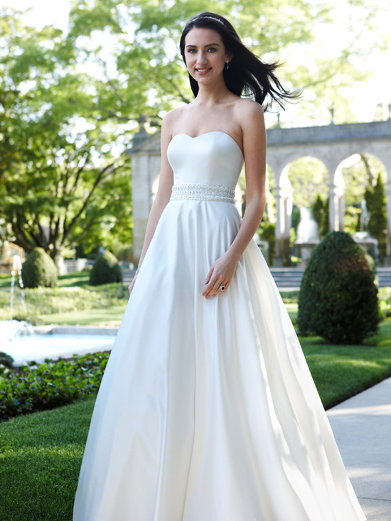 wedding dress fall 2011 davids bridal wedding gown WG3389