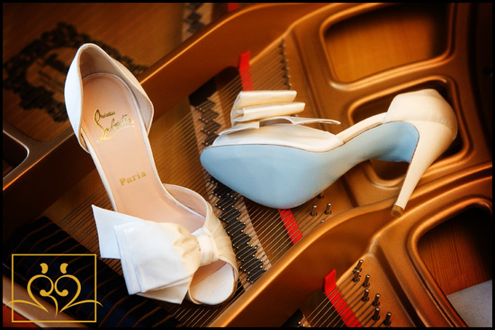 ivory christian louboutin wedding shoes 1