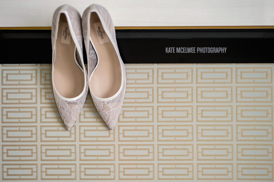 classic wedding shoes lace Valentino