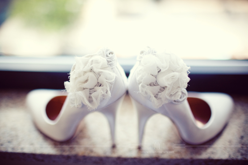 covetable wedding accessories tuesday shoesday for brides white floral embellished