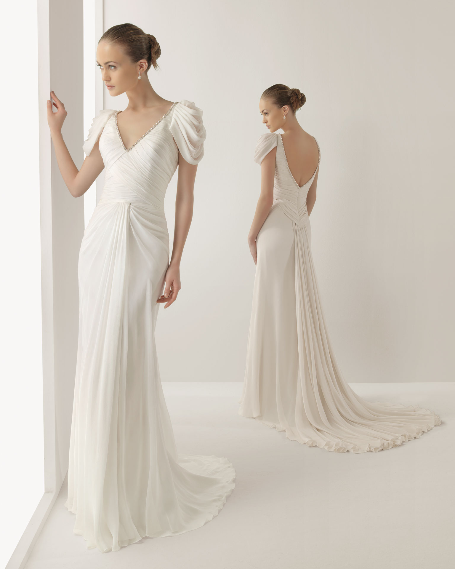 2013 wedding dress soft by rosa clara bridal gowns jardin for Boda en jardin vestidos