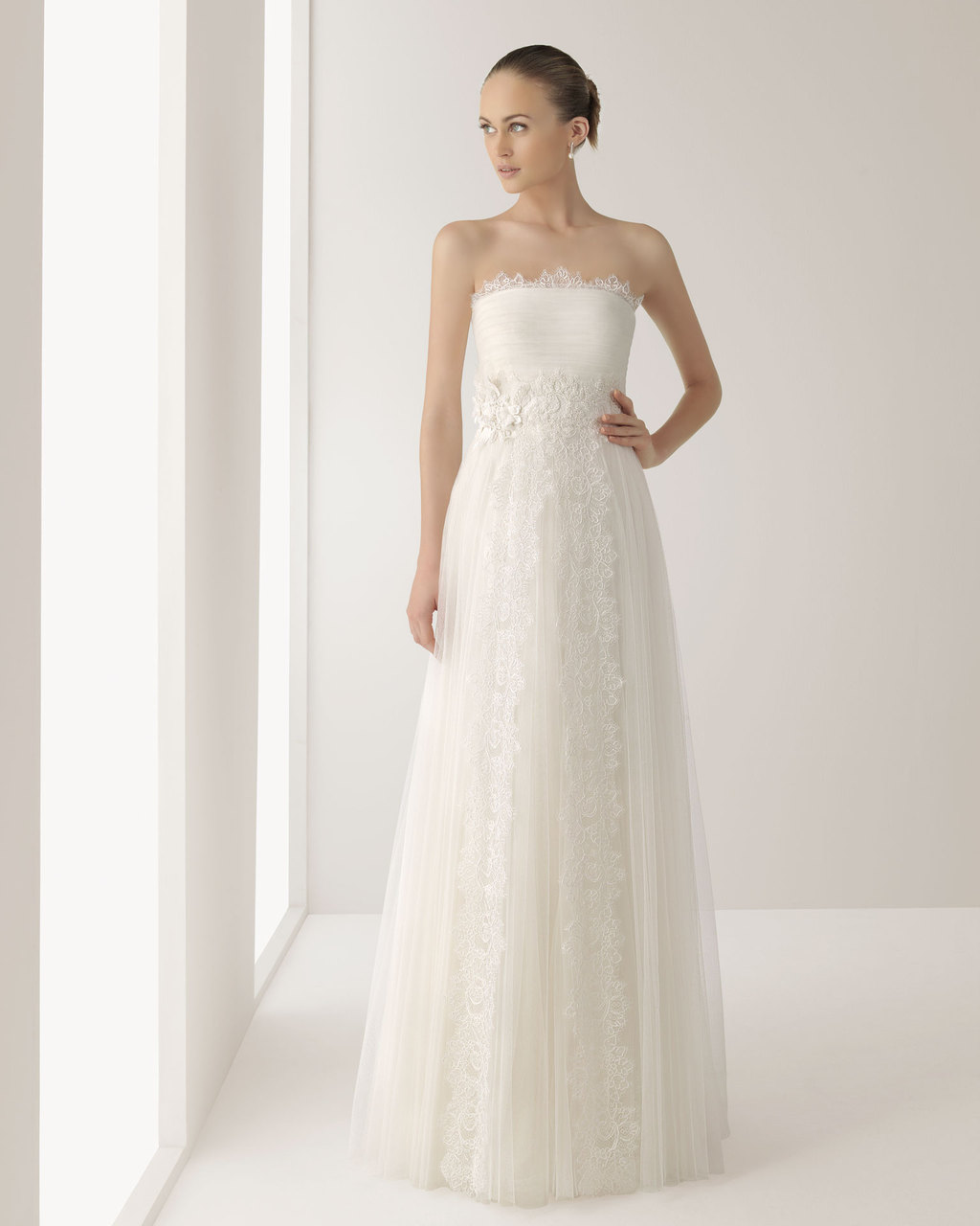 2013 wedding dress Soft by Rosa Clara bridal gowns Jonico veil