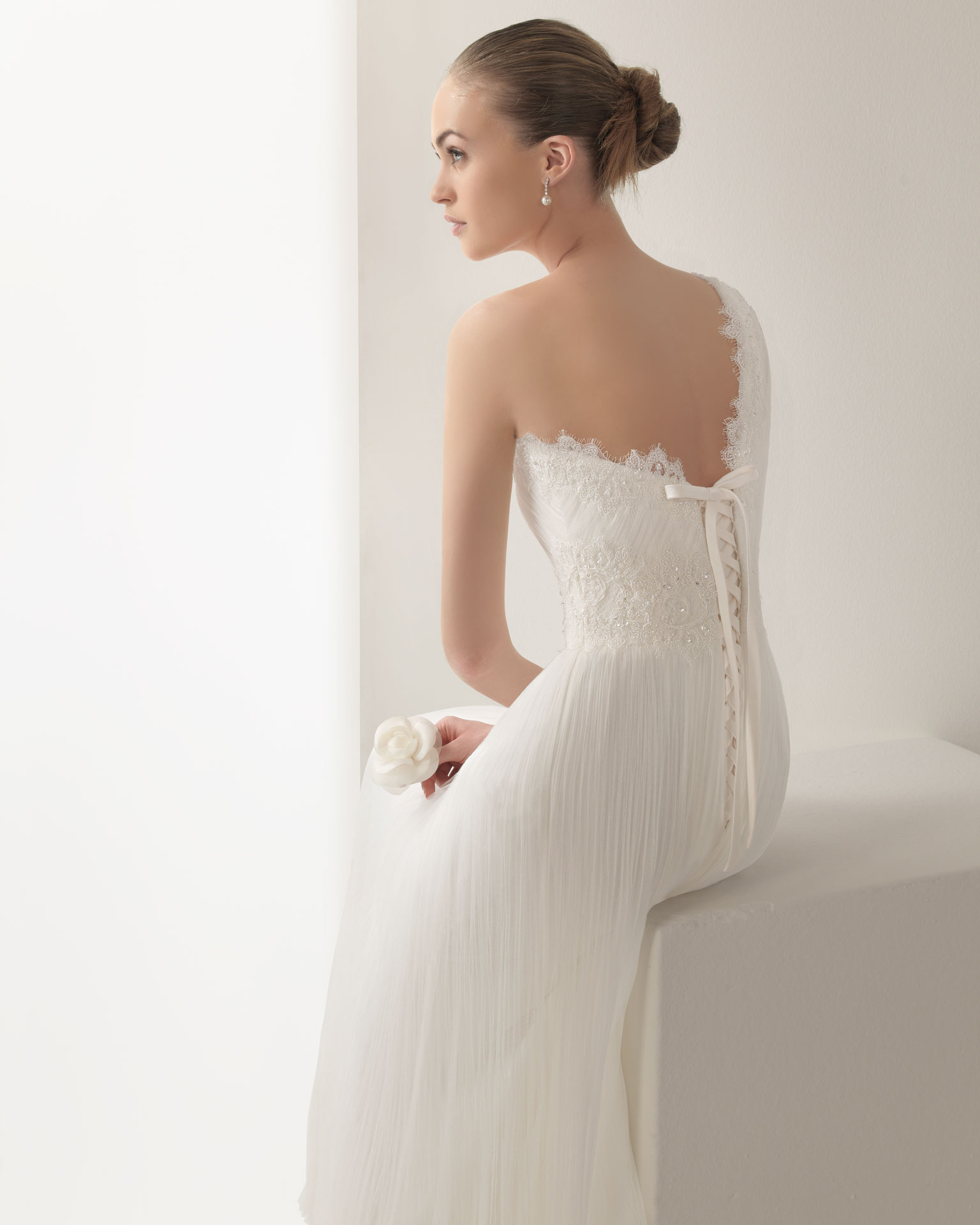 2013 wedding dress soft by rosa clara bridal gowns back. Black Bedroom Furniture Sets. Home Design Ideas