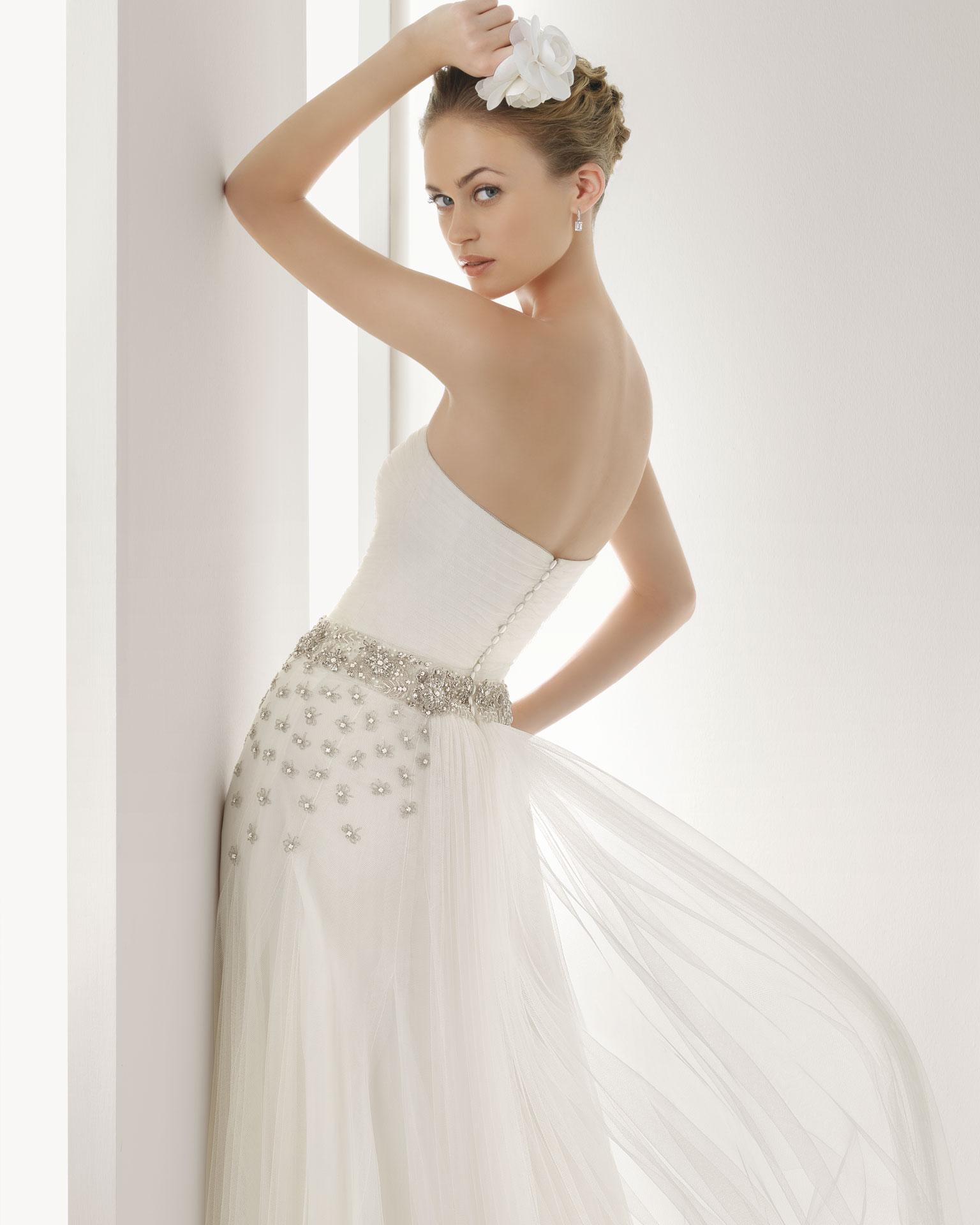 2013 wedding dress soft by rosa clara bridal gowns jemal 2 for Wedding dress rosa clara
