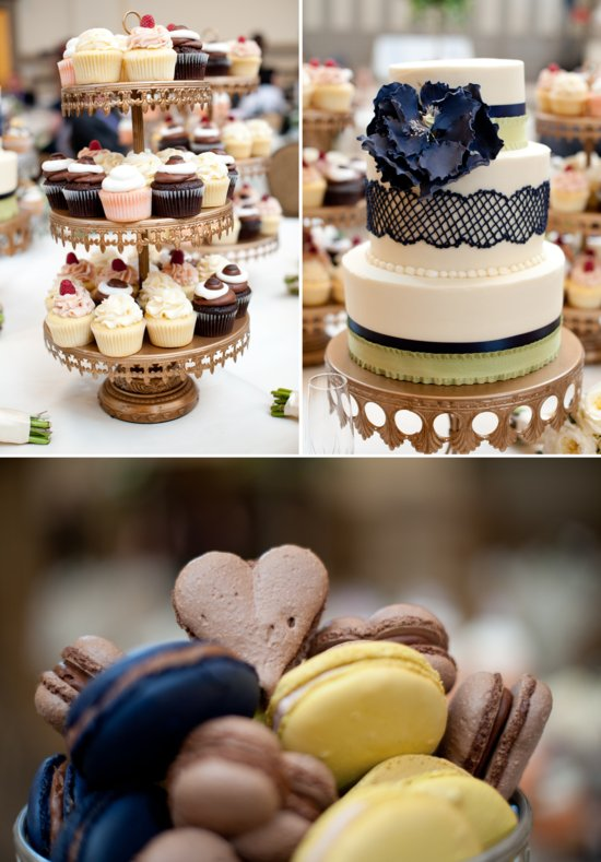 photo of Scrabble themed wedding Virginia wedding venue cake cupcakes macarons