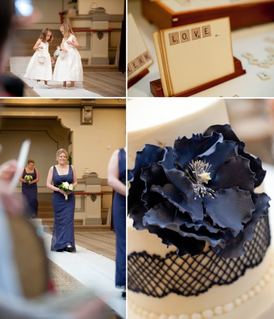 elegant real wedding inspiration for Virginia brides Scrabble themed decor