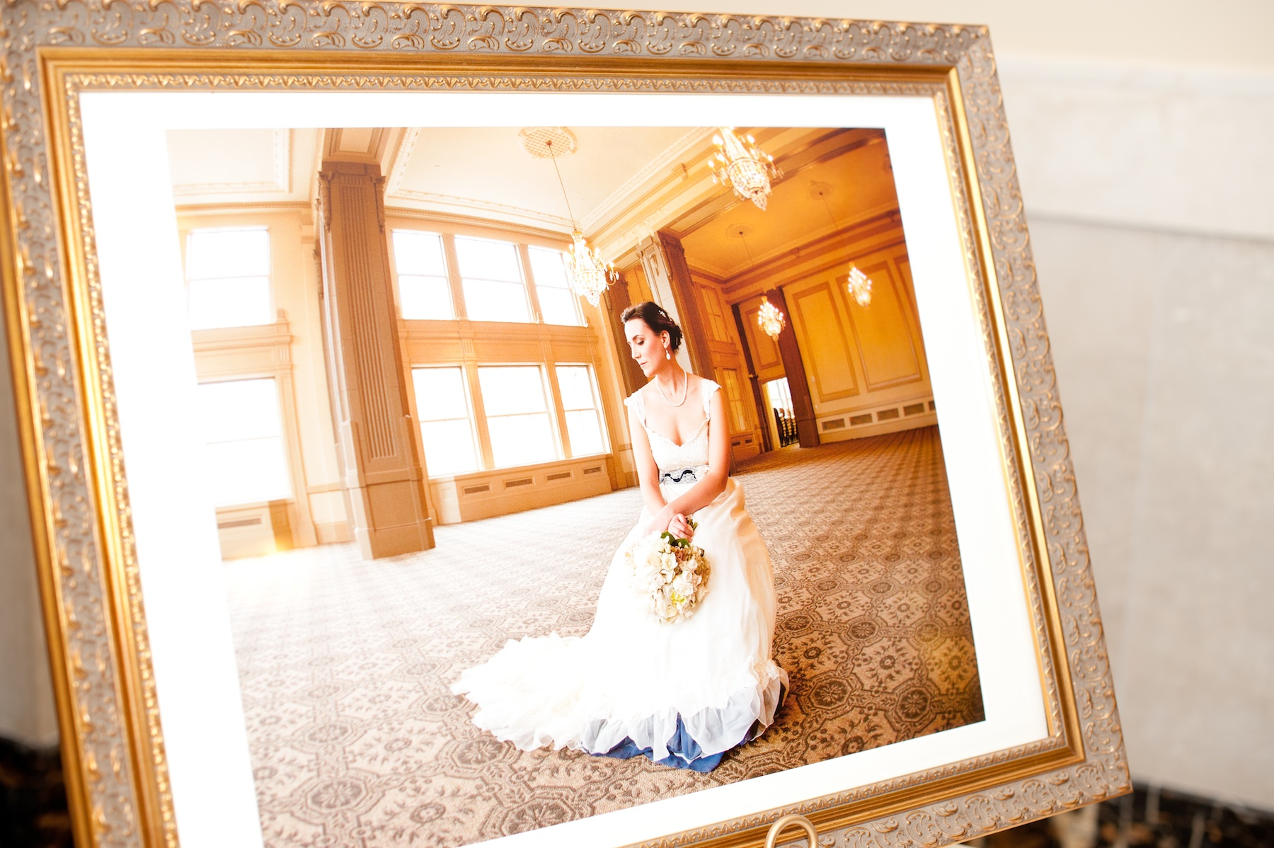 Vintage inspired wedding in richmond va bridal portrait for Wedding dress shops richmond va