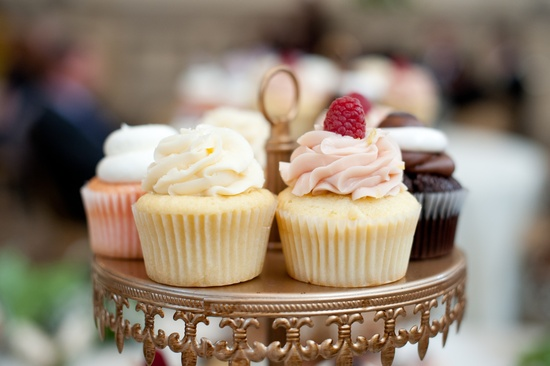 wedding photography sneak peek elegant real wedding cupcakes
