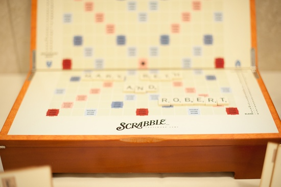 wedding photography sneak peek elegant real wedding scrabble board