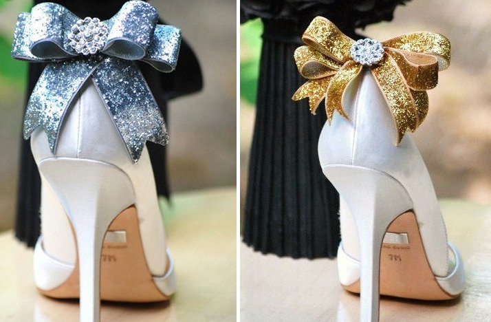 pretty little wedding shoe clips fun affordable bridal accessories 1