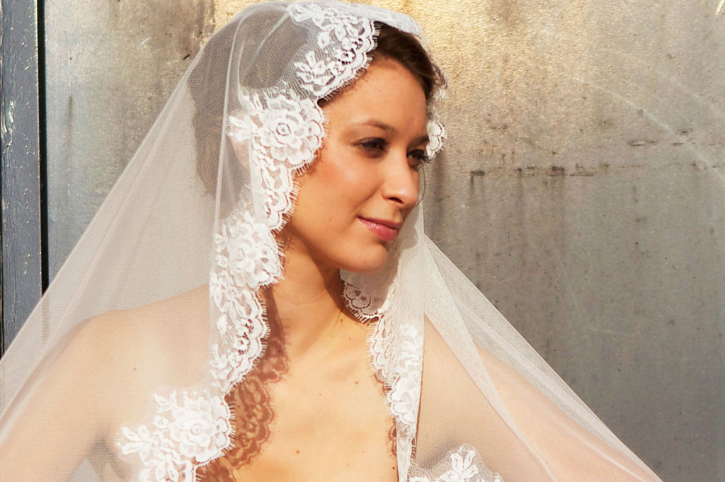 Romantic Wedding Accessories Bridal Head Chic Mantilla Veils 6