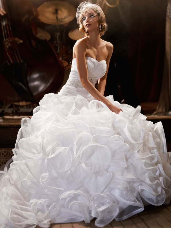 wedding dress galina signature davids bridal fall 2012