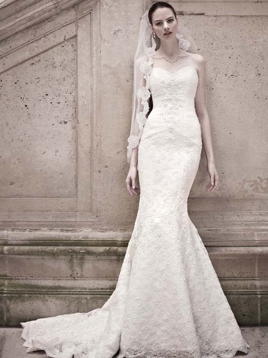 wedding dress davids bridal fall 2012 oleg cassini bridal gown crl277