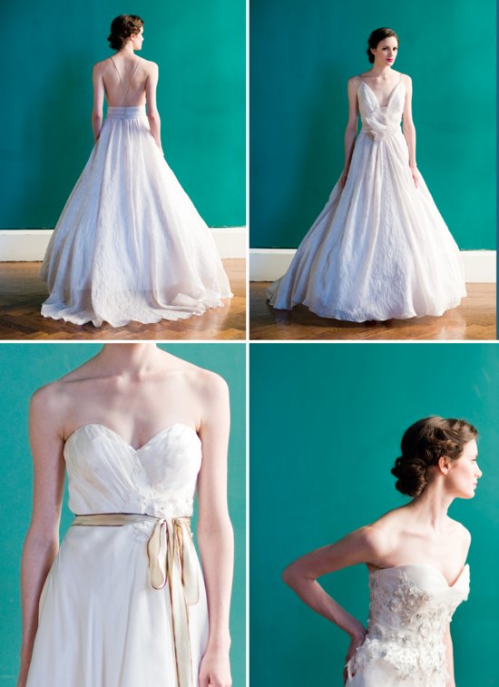 photo of Stunning 2013 Wedding Dresses by Project Runway Alum Carol Hannah