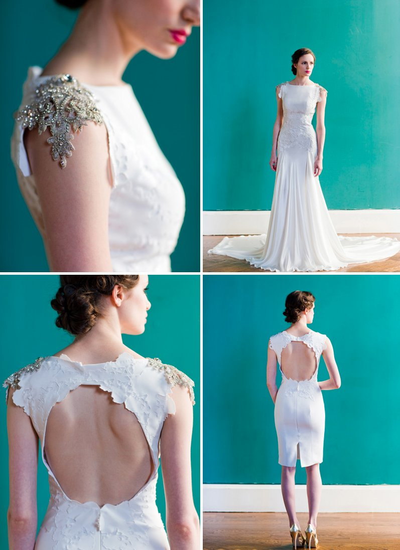 2013 wedding dresses Carol Hannah of Project Runway romantic bridal gowns 1