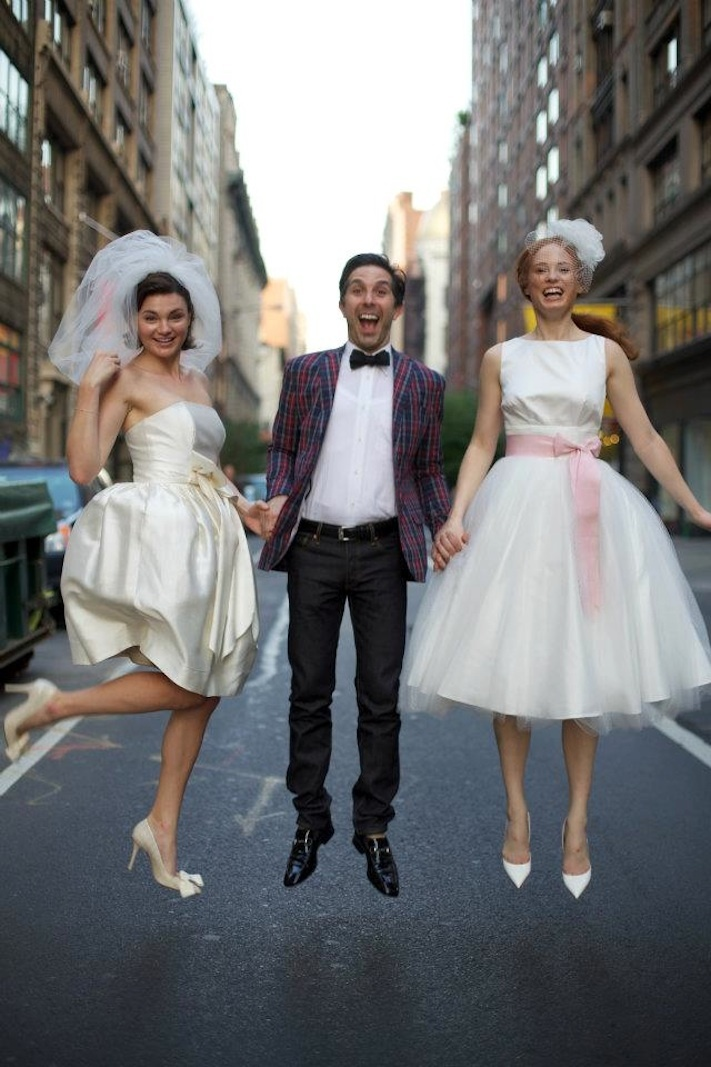 vintage inspired wedding dresses for the city bride Fancy NYC