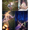 Rustic-engagment-session-in-the-woods-bride-groom-roast-marshmellos.square