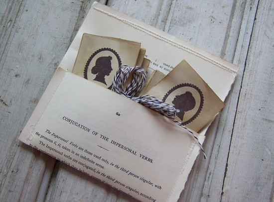 wedding inspiration decor details elegant themes silhouettes vintage favor tags