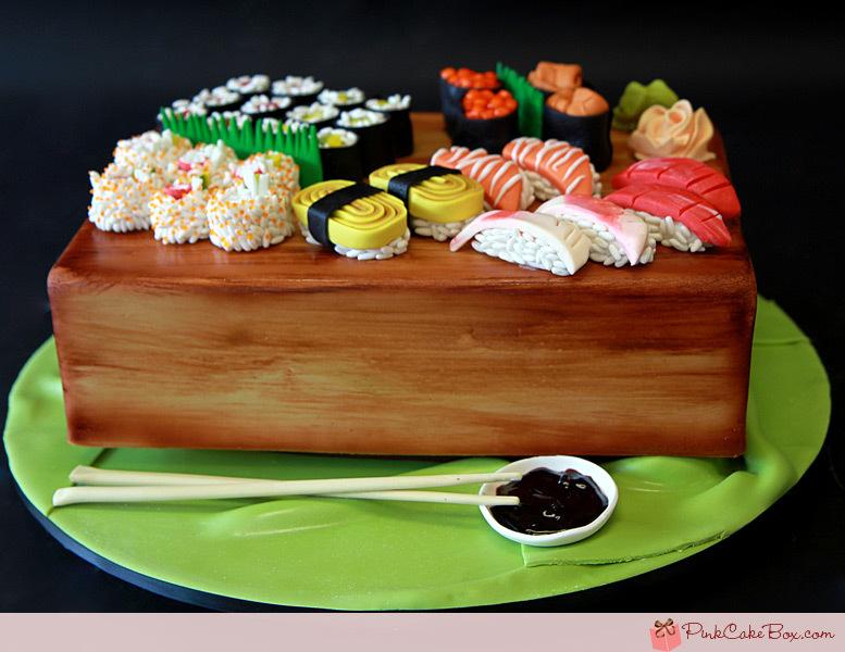Суши торты с фото