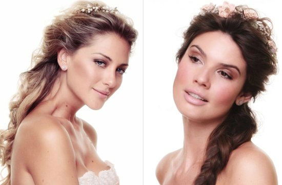 bridal beauty inspiration wedding makeup ideas bohemian romance