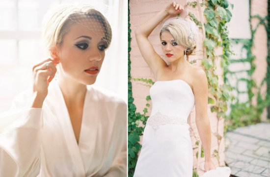 bridal beauty inspiration wedding makeup ideas retro bride