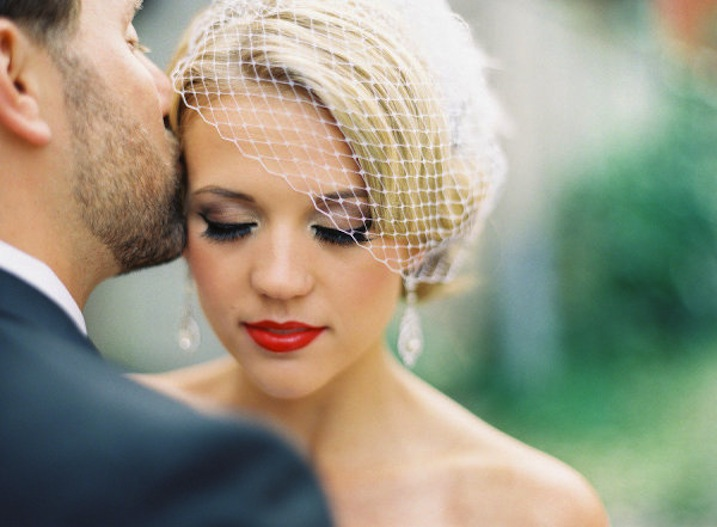 Ideas For Wedding Makeup : bridal beauty inspiration wedding makeup ideas retro red ...
