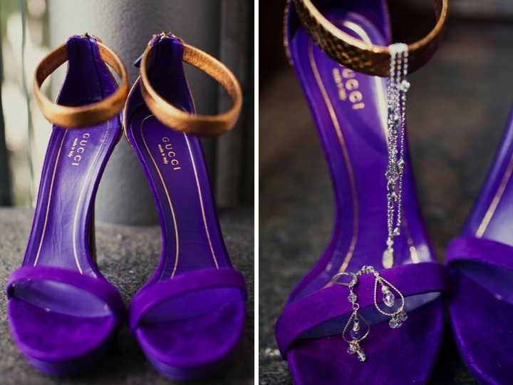 Purple-green-wedding-inspiration-elegant-bridal-style-gucci-shoes.full
