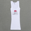 Gifts-for-the-bride-white-wedding-tank-with-red-lips.square