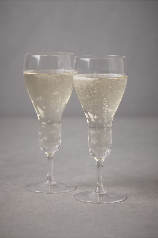 festive toasting flutes wedding gifts for the bride