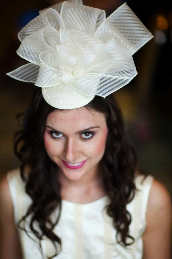 fun little treats for the bride to be wedding hat vintage inspired