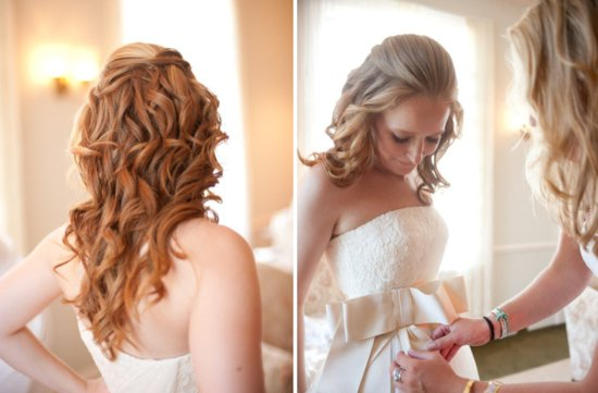 All down wedding hairstyles bridal beauty