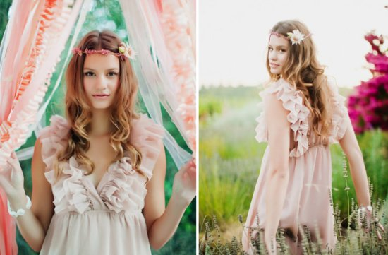 All down boho wedding hairstyles bridal beauty