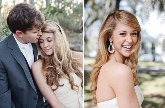 all down wedding hairstyles bridal beauty inspiration 7