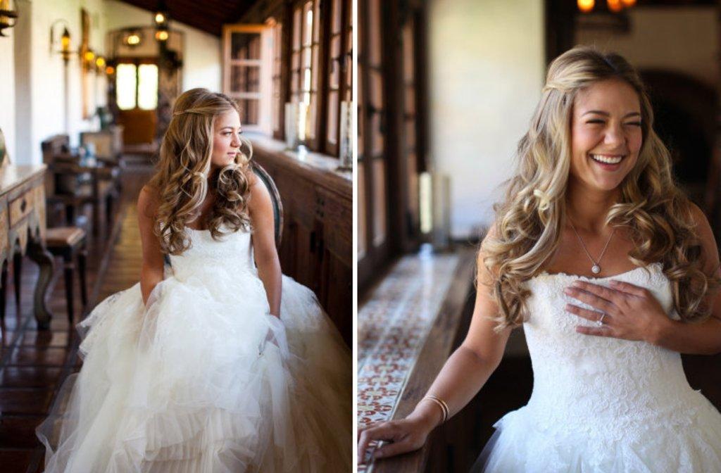 All Down Wedding Hair On Onewed