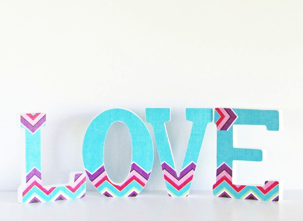 Chevron-wedding-sign-turquoise-purple-red-2.full