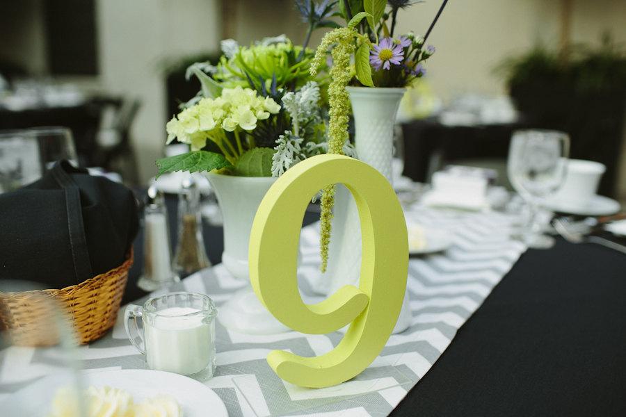 Chevron-wedding-inspiration-tablescape-gray-black-green.full