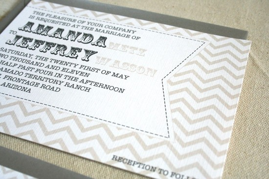 chevron wedding inspiration wedding decor details for the reception neutrals invitation