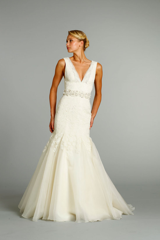 fall 2012 wedding dress Jim Hjelm bridal gowns 8251