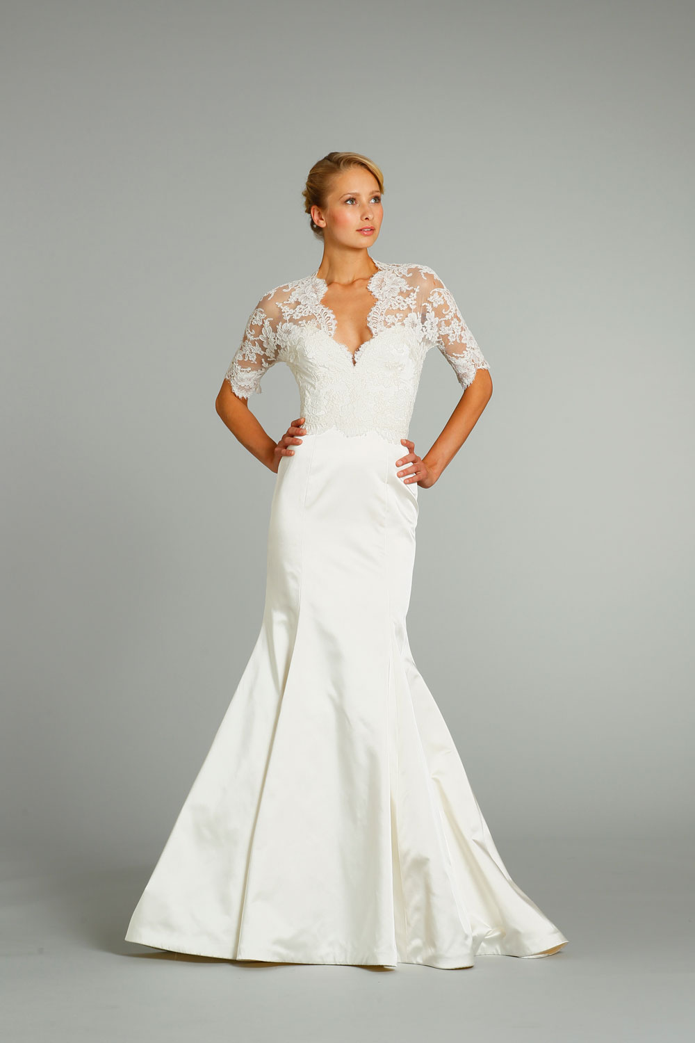 Fall 2012 wedding dress jim hjelm bridal gowns 8256 for Jim hjelm wedding dresses