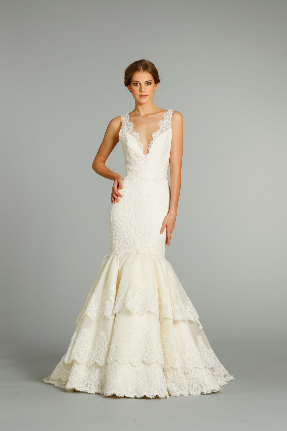 Fall 2012 wedding dress jim hjelm bridal gowns 8259 for Jim hjelm wedding dresses