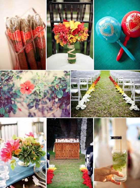 Wedding Theme Inspiration: Vibrant Havana Nights