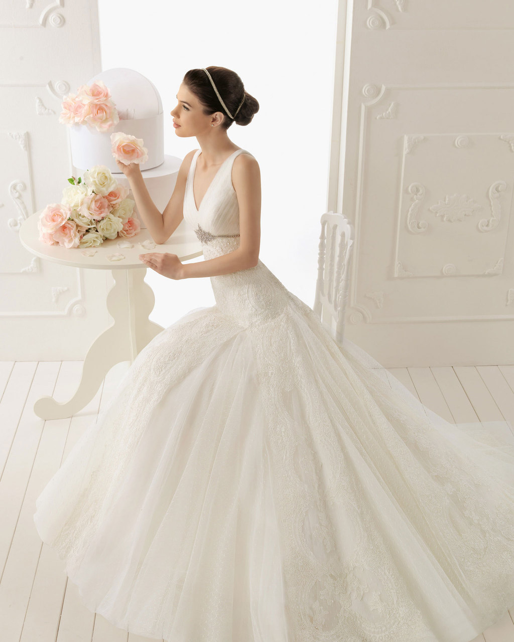 2013 wedding dress Aire Barcelona bridal gowns raissa