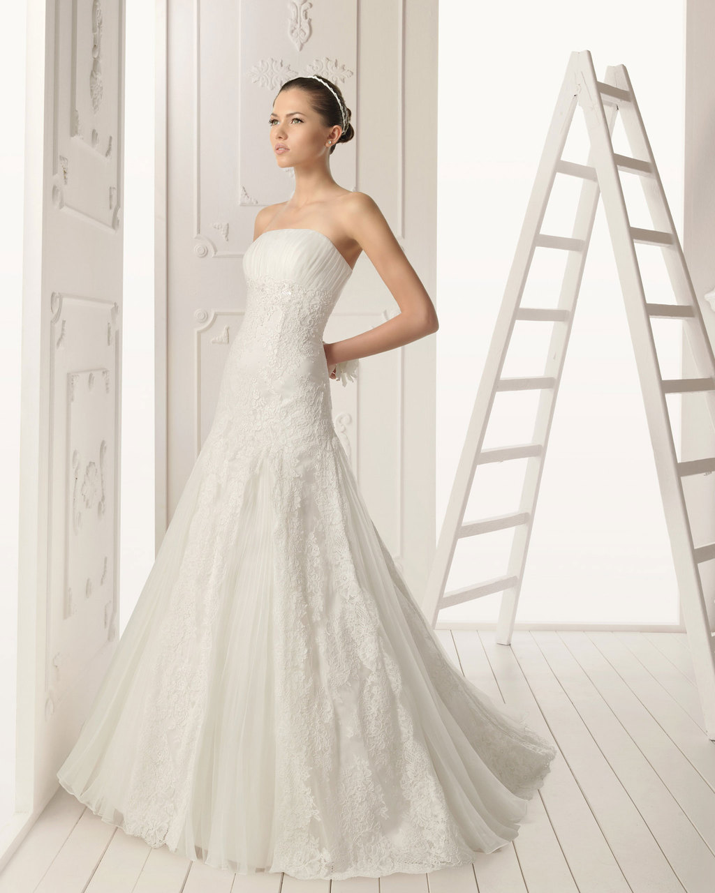 2013 wedding dress Aire Barcelona bridal gowns ramas
