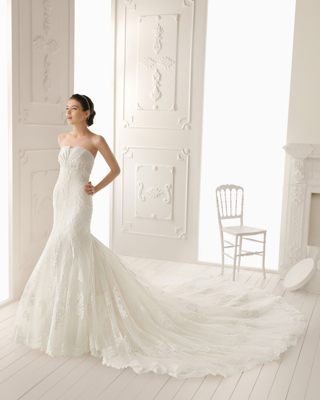 2013 wedding dress Aire Barcelona bridal gowns rania