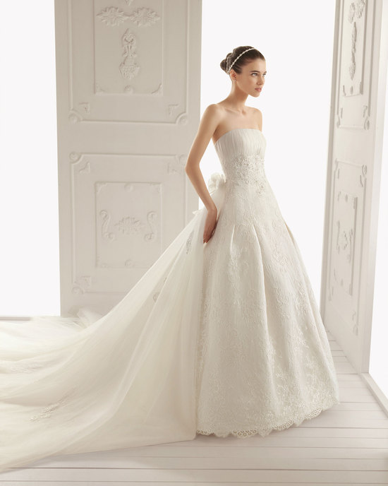 2013 wedding dress Aire Barcelona bridal gowns ravel